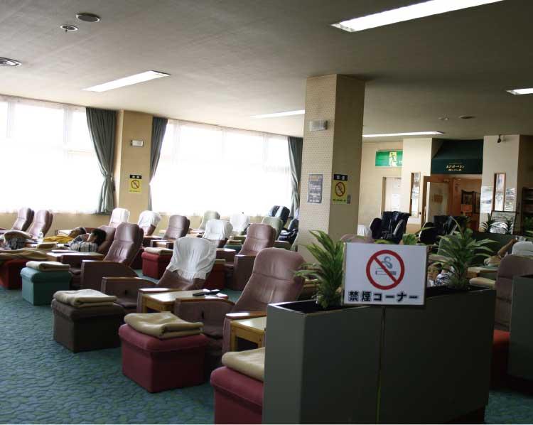 函館健康センター湯都里館内