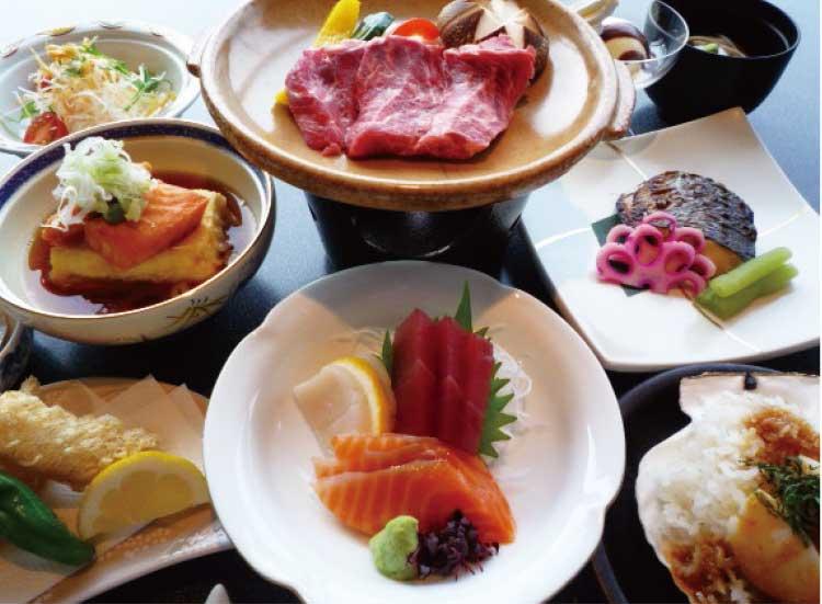 ホテルリソル函館ディナー料理