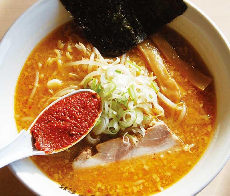 ラーメン専科麺次郎の四川辛みそラーメン