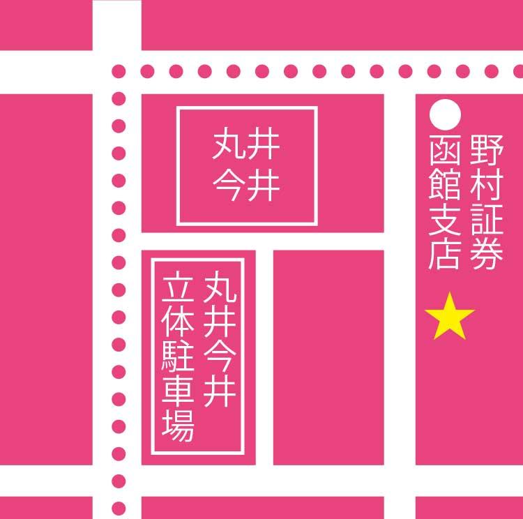 ぱんせぼー周辺地図