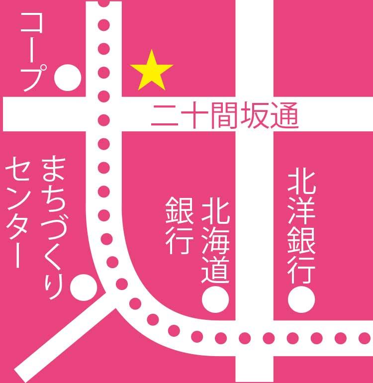 パン工房元町ぼん・ぱん周辺地図