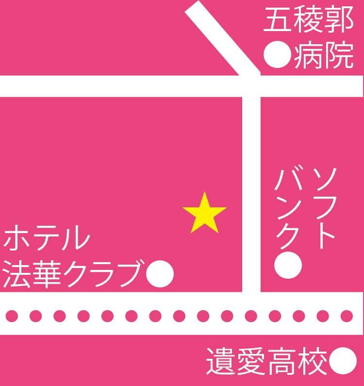 神戸こむぎ館周辺地図