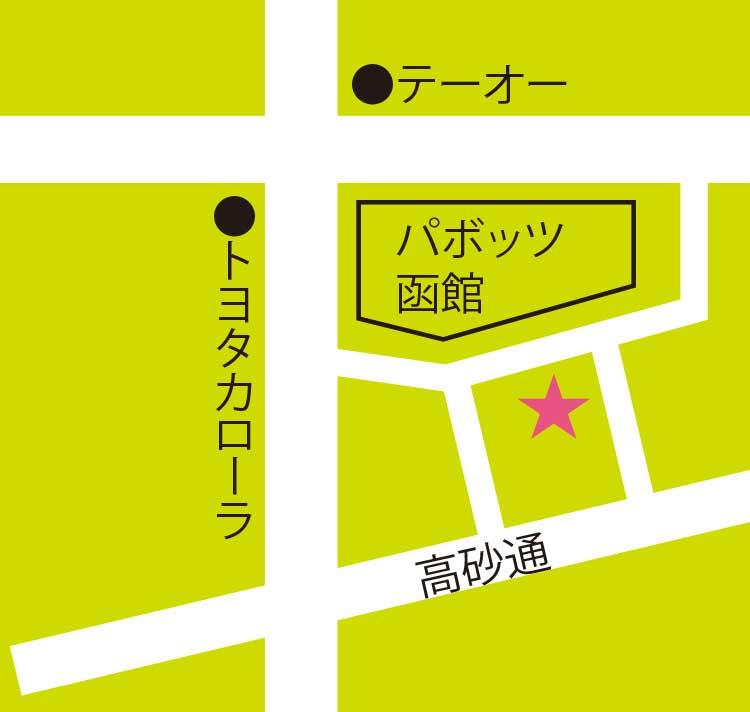 メイクアップ周辺地図