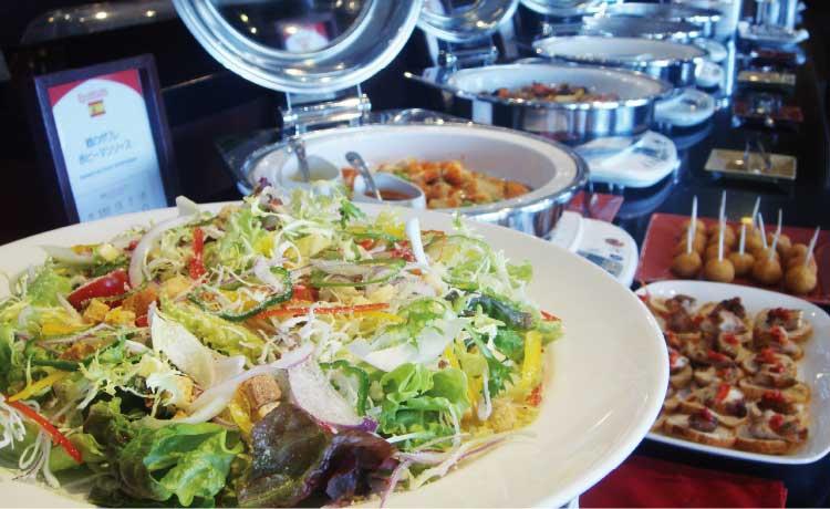 キッチンルーム四季のサラダ