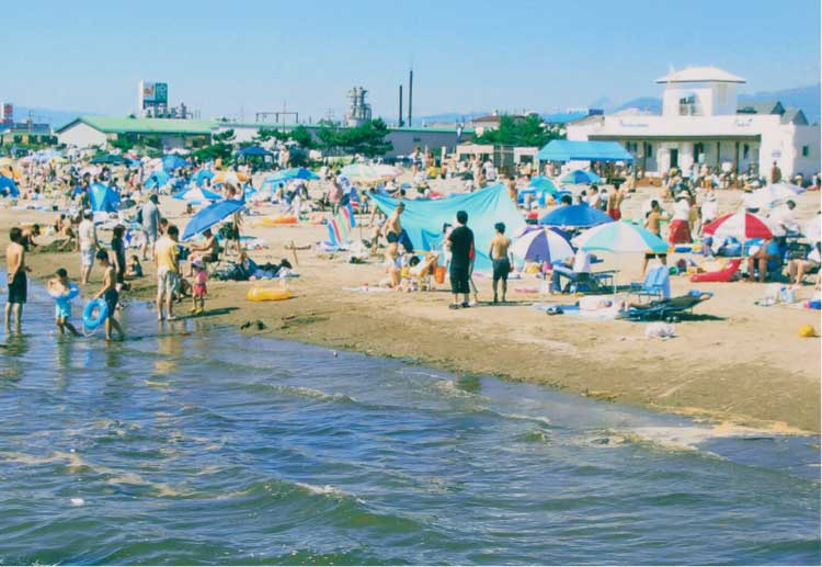 七重浜海水浴場
