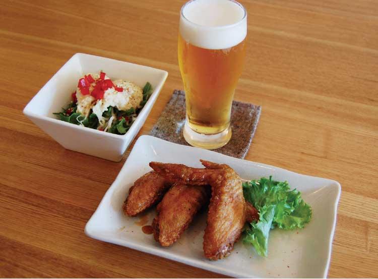 haru-na-teiの酒飲みによる酒飲みのためのポテトサラダと名古屋の手羽先