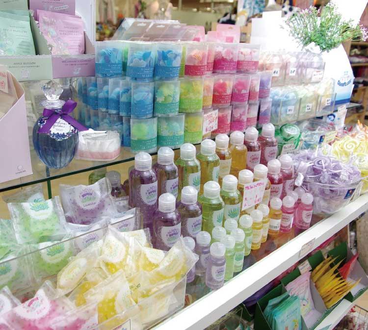 ママイクコの入浴剤コーナー