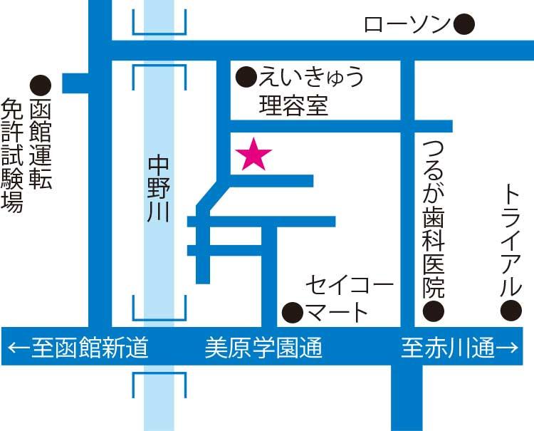 Sweets KEYAKI周辺地図