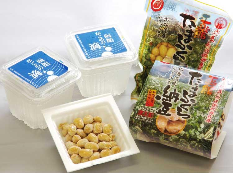 株式会社だるま食品本舗のたまふくら納豆