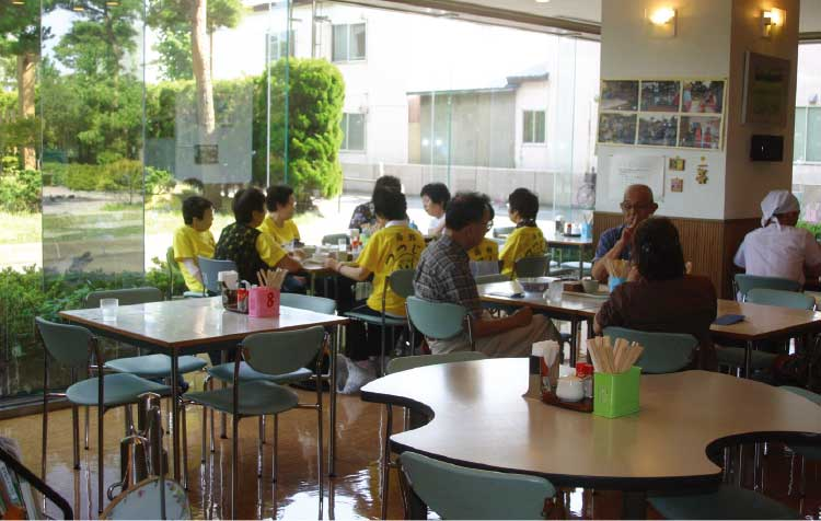 軽食喫茶たんぽぽ店内