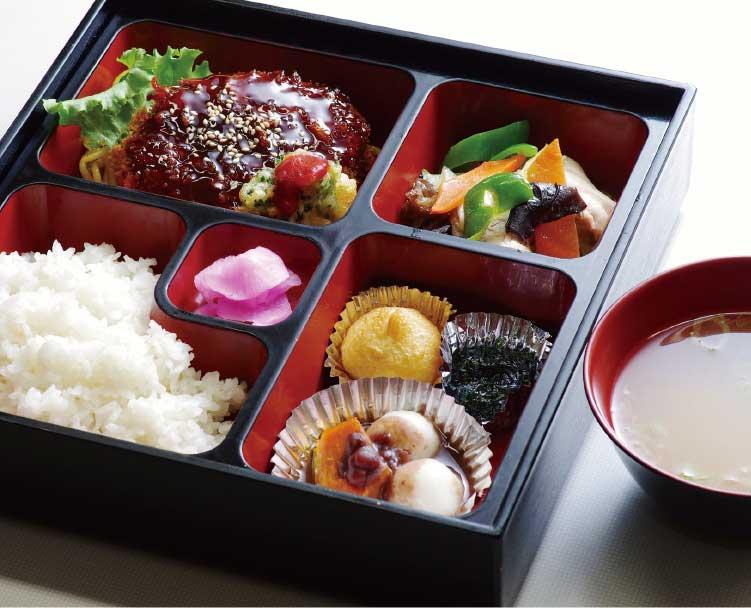 函館市役所庁舎内食堂の日替り弁当