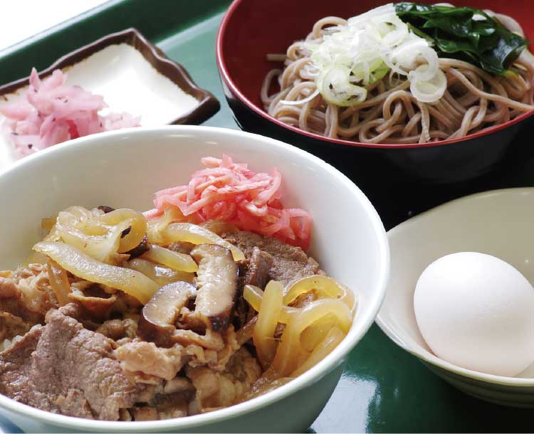 函館地方合同庁舎食堂のAランチ