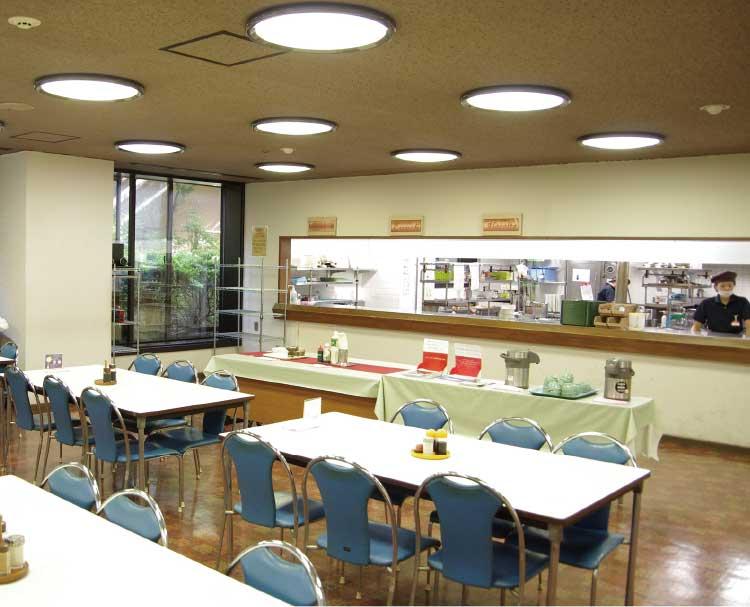 函館地方合同庁舎食堂内