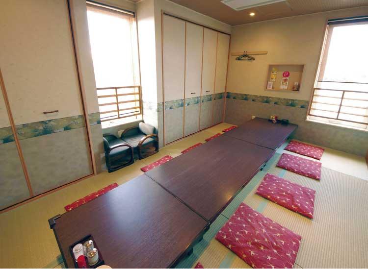 和食ダイニング天八昭和店の座敷個室