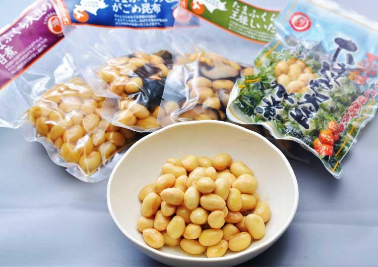 だるま食品本舗のたまふくら大豆