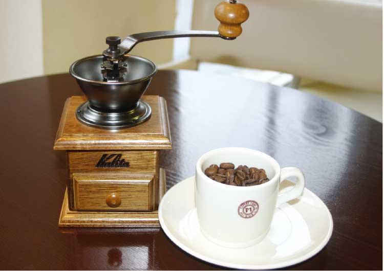 手挽きコーヒーミル・ミニミル