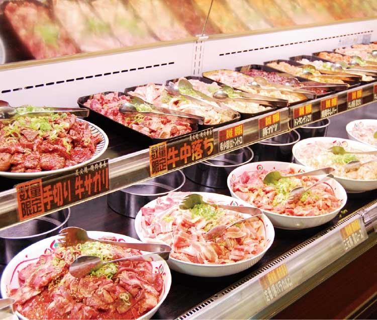 焼肉番長のバイキングで食べられるお肉