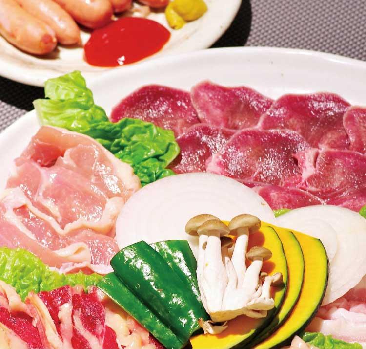焼肉一徳のバイキングコースお肉