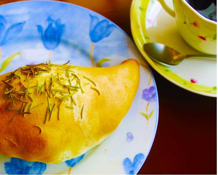 カフェテリアモーリエのピロシキセット
