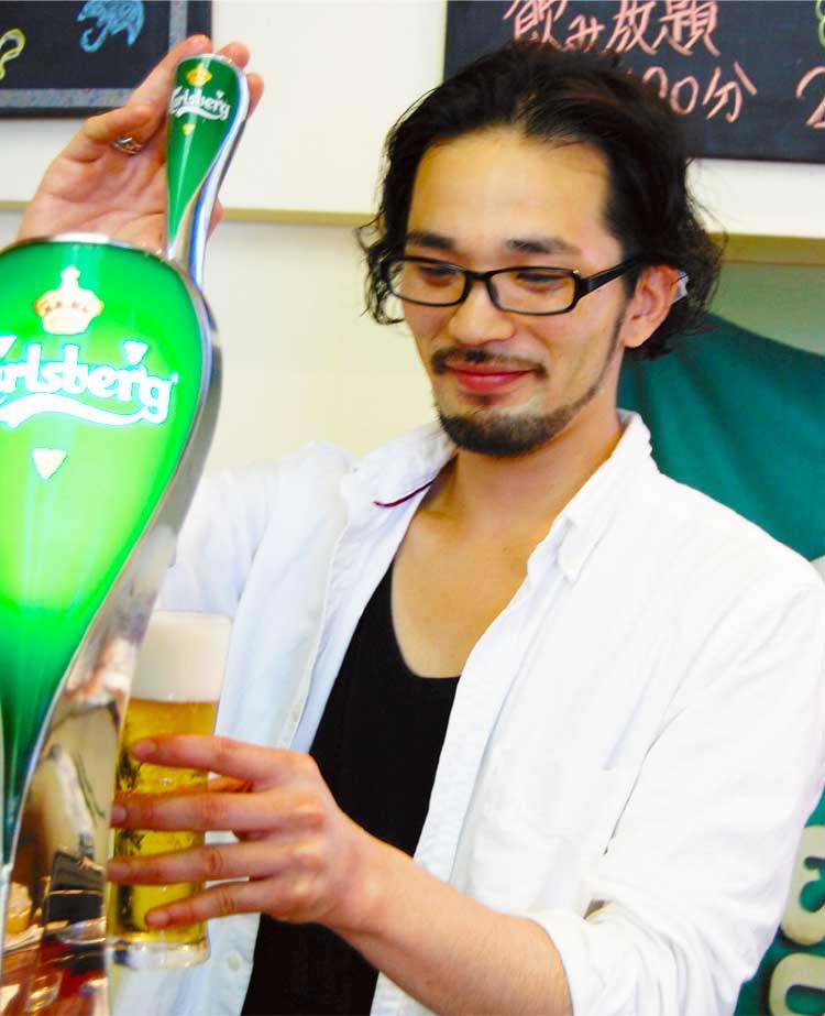 エバーグリーン店長久保田翔さん