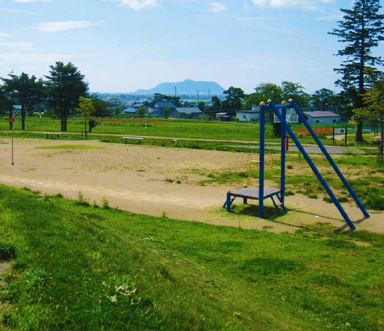 七飯総合公園の遊具