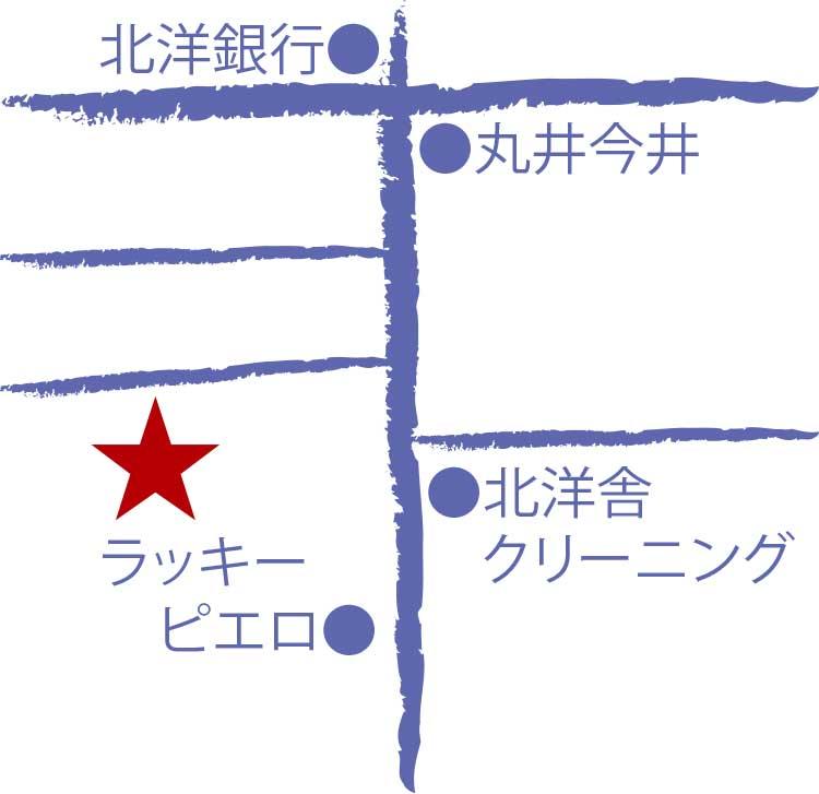 和食・すきやき・しゃぶしゃぶ寿々半周辺地図