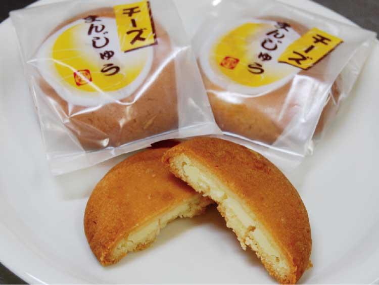 鶴屋のチーズまんじゅう