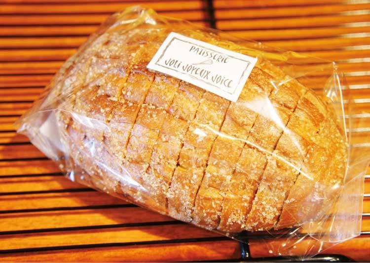 ジョリジュワジョイスの道産小麦まるごとラスク
