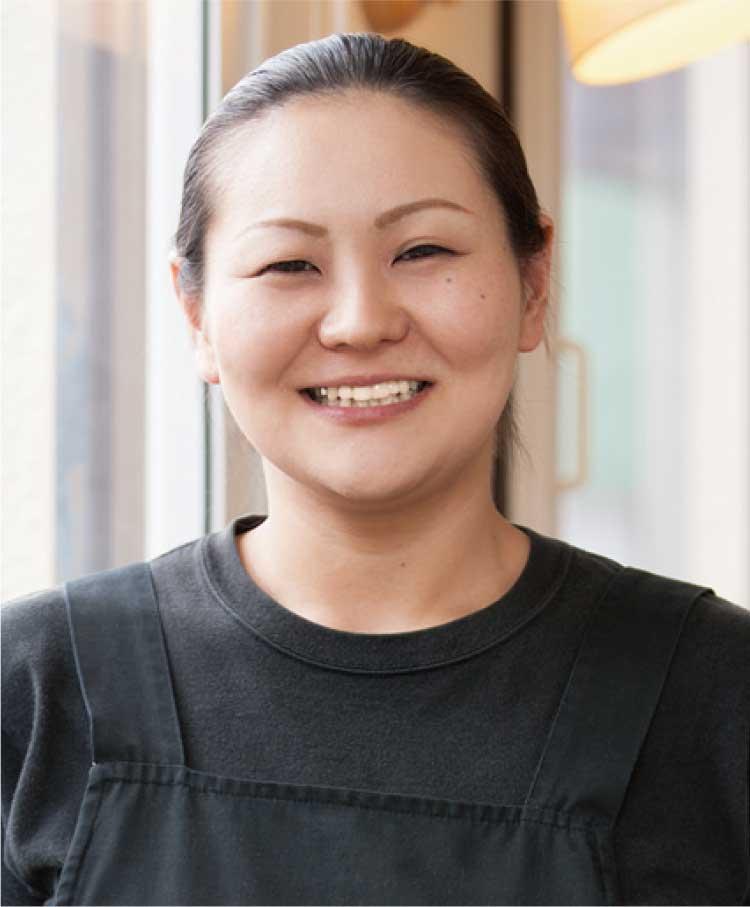 ビストロコパン料理長輪島美恵さん