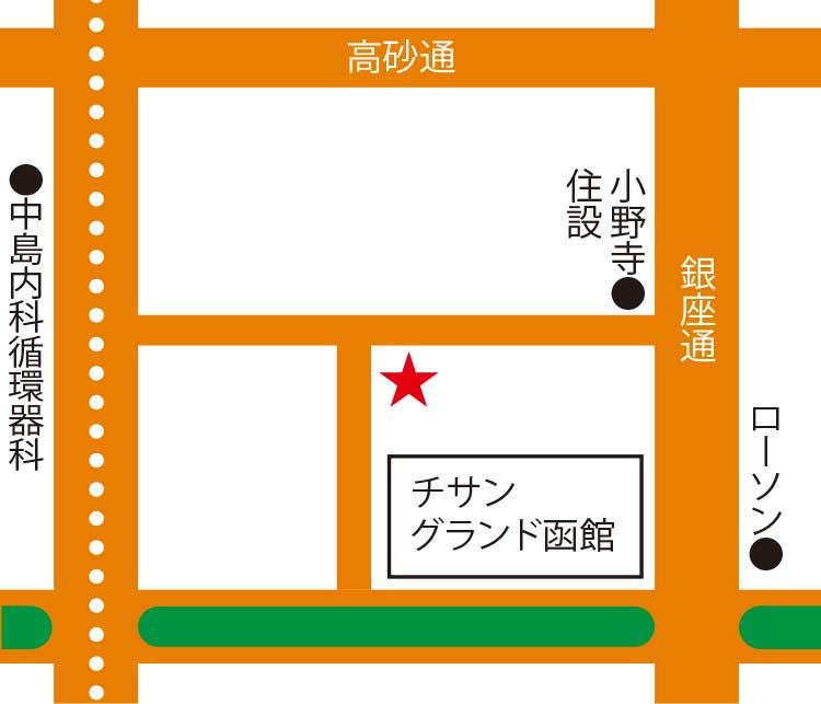 祐鮨周辺地図