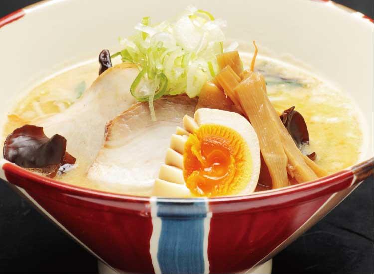 麺厨房あじさいの白味噌ラーメン