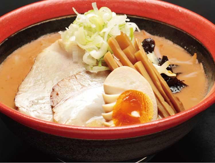 麺厨房あじさいの赤味噌ラーメン