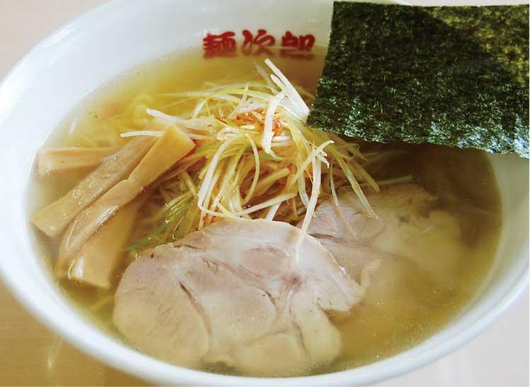 麺次郎石川店辛ネギラーメン塩味