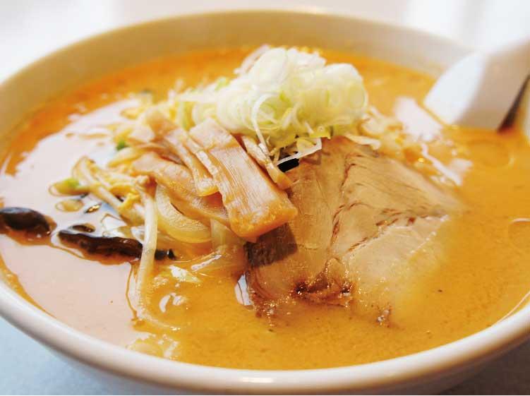 麺レストラン廣河ヌードルの旨辛味噌ラーメン