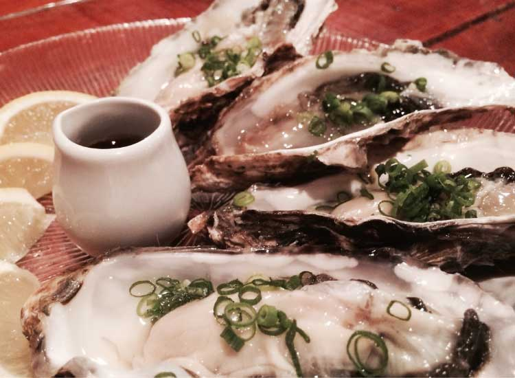 フラッシュフラッシュの牡蠣