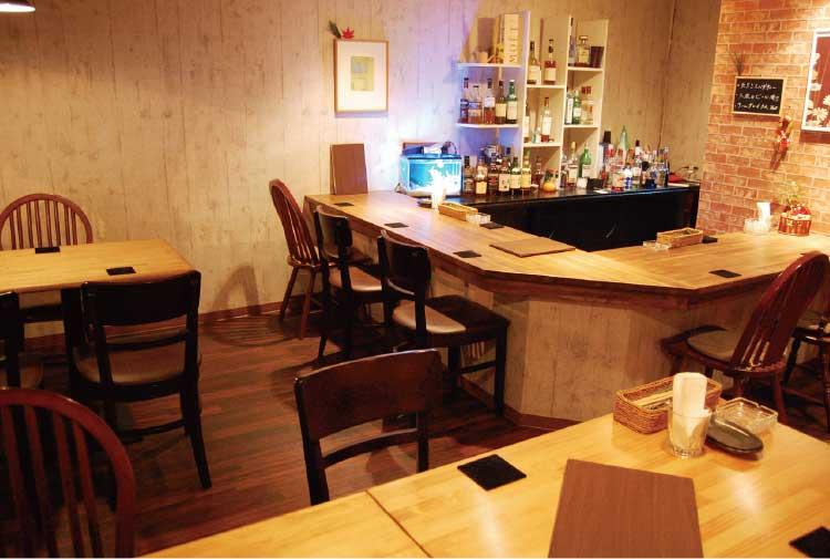 Bar STEM店内