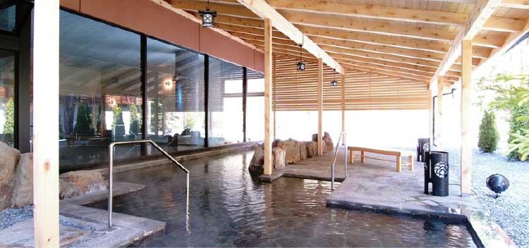 湯の川観光ホテル祥苑の露天風呂