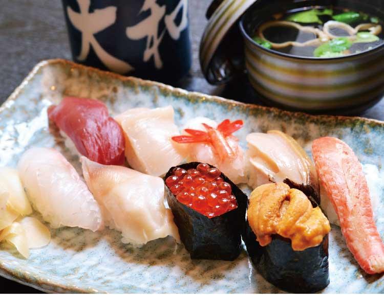 大和寿しの特上握り寿司