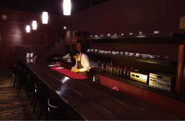 bar-del CLOE店内