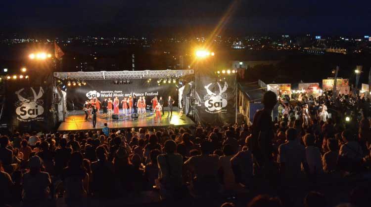 はこだて国際民俗芸術祭ステージ