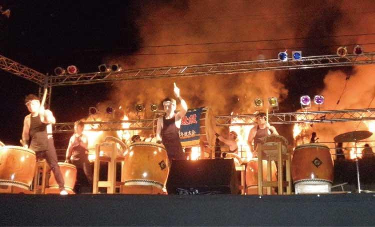 エゾ地の火まつりステージ