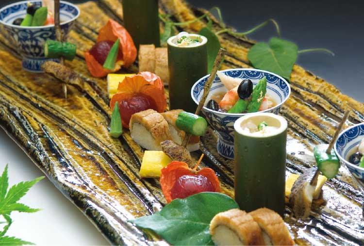 割烹旅館若松の季節の懐石プラン料理