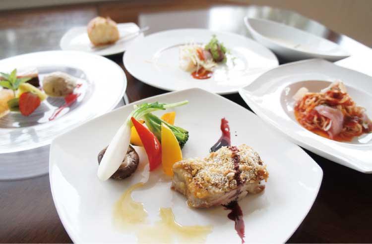 レストランル・ヴァンのランチコース料理