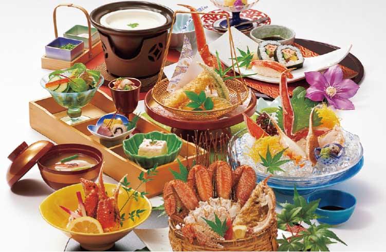 海鮮料理はこだて亭の毛蟹会席・旬海コース料理