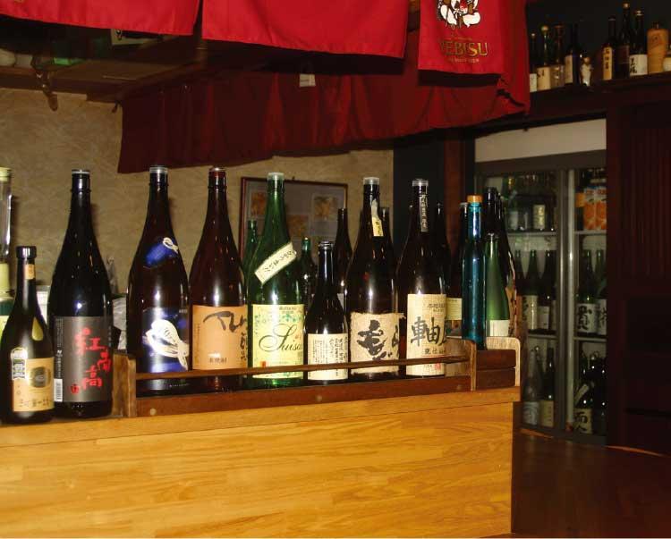 二代目佐平次で飲める沢山の日本酒