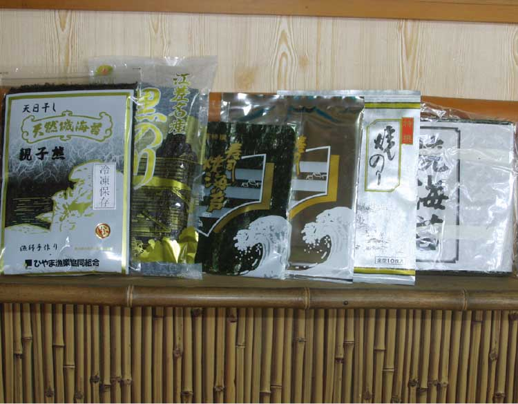 内田のり店の各種海苔