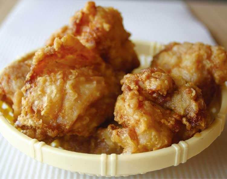 肉の松葉屋の若鶏唐揚