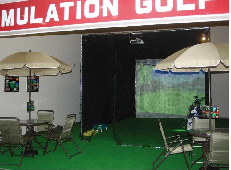 ホテルリソル函館のゴルフシミュレーター