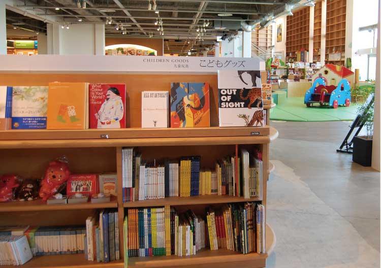 函館蔦屋書店の児童書コーナー