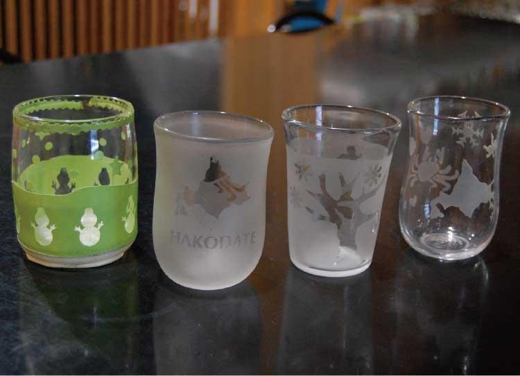 ザ・グラススタジオイン函館の手作りグラス